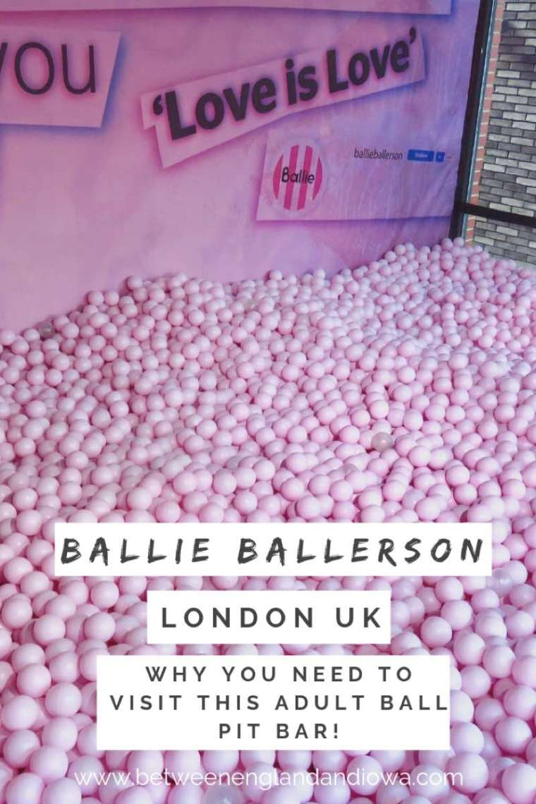 Ballie Ballerson Adult Ball Pit Bar London