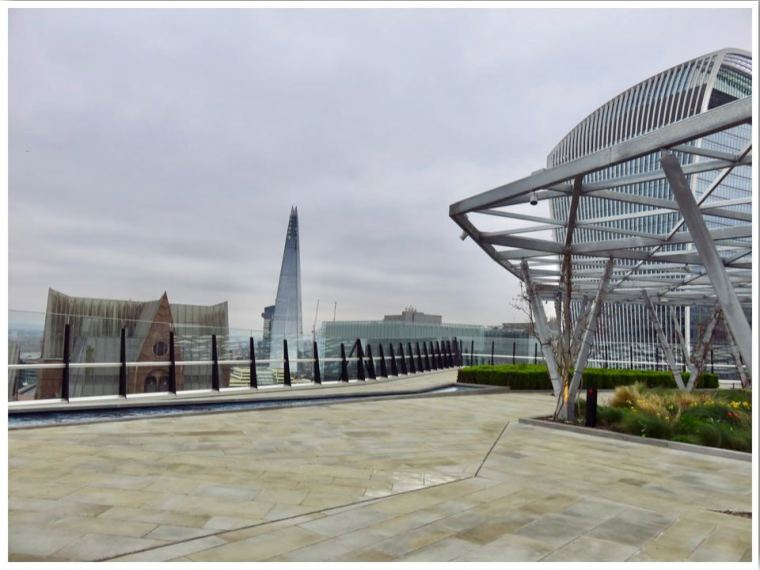 Rooftop garden at The Garden at 120 London