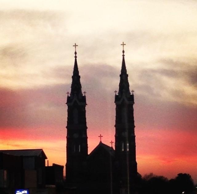 Highway 20 Dyersville Basilica