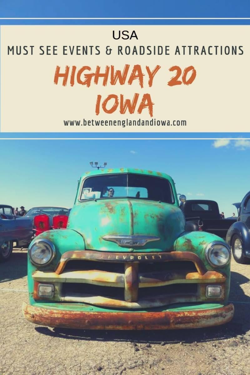 Highway 20 Iowa Road Trip