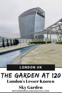 The Garden at 120 London UK