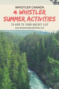 4 adventurous Whistler summer activities to add to your bucket list