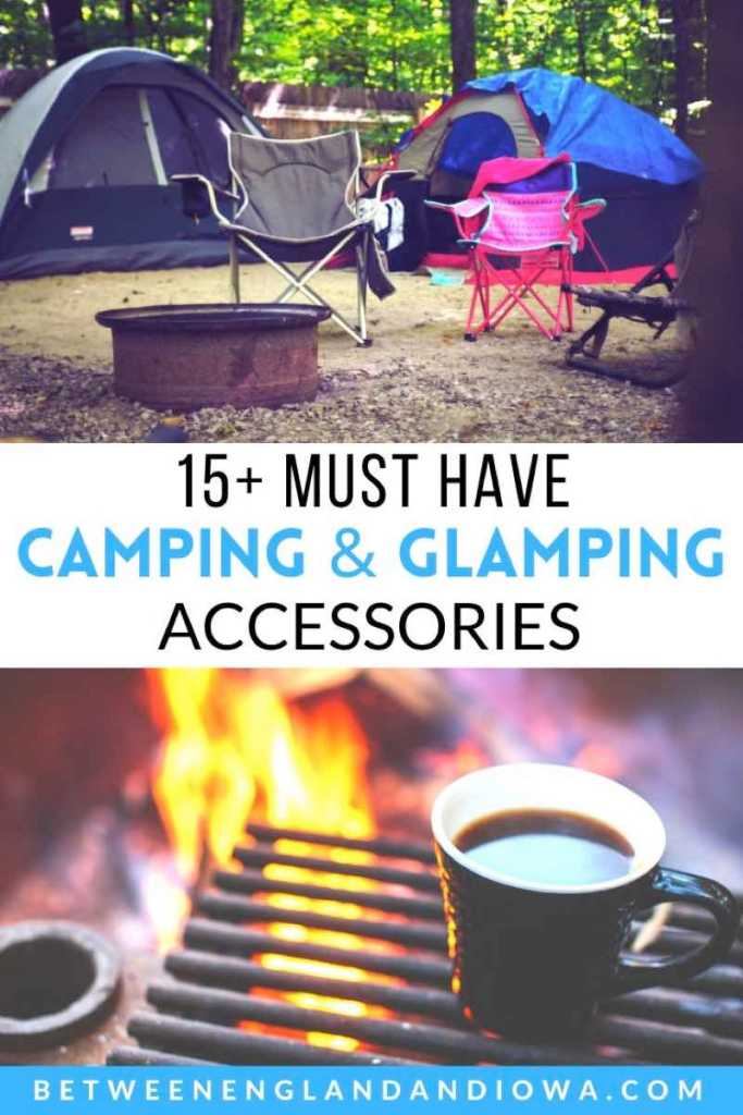 Must have camping and glamping accessories