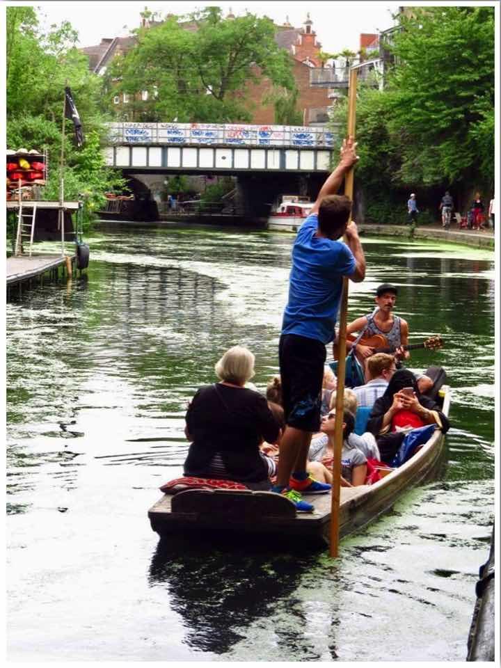 London Camden Regents Canal