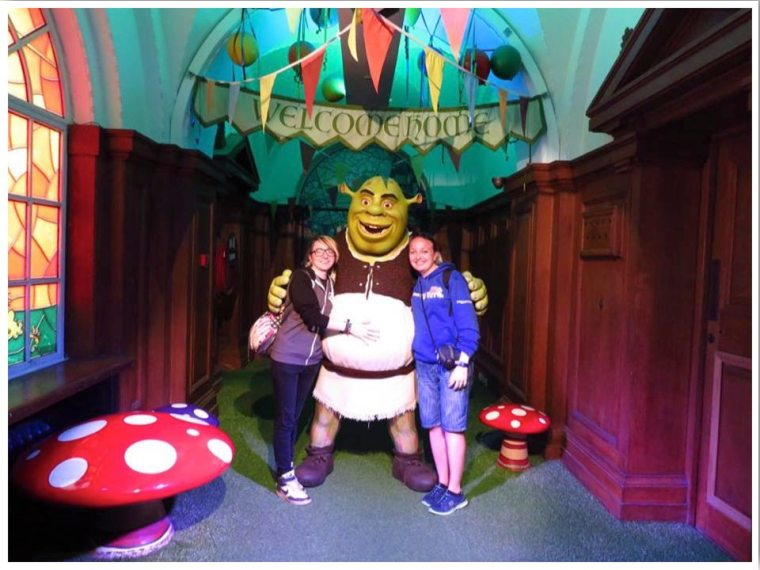 London Shrek Attraction