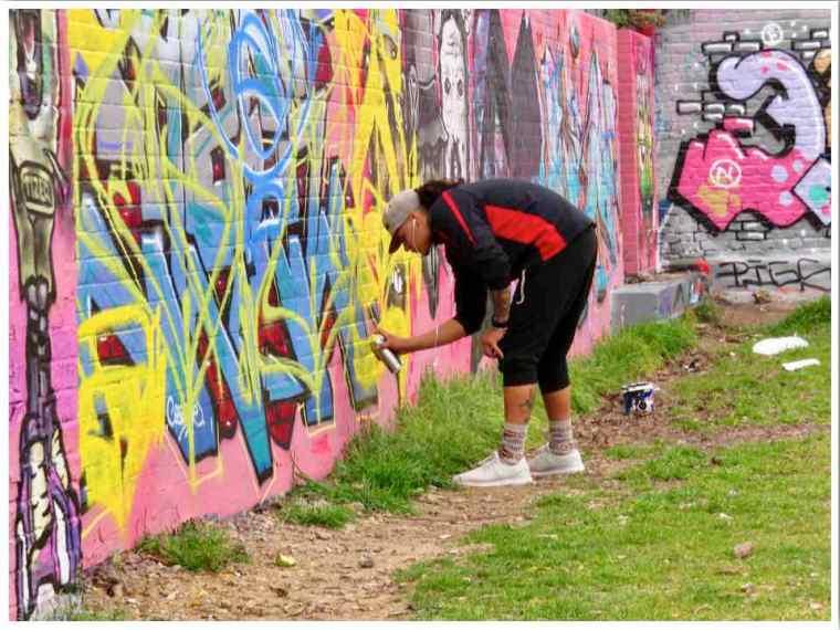 London Street Artist Brick Lane