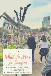 What to wear in London and why I don't like these posts
