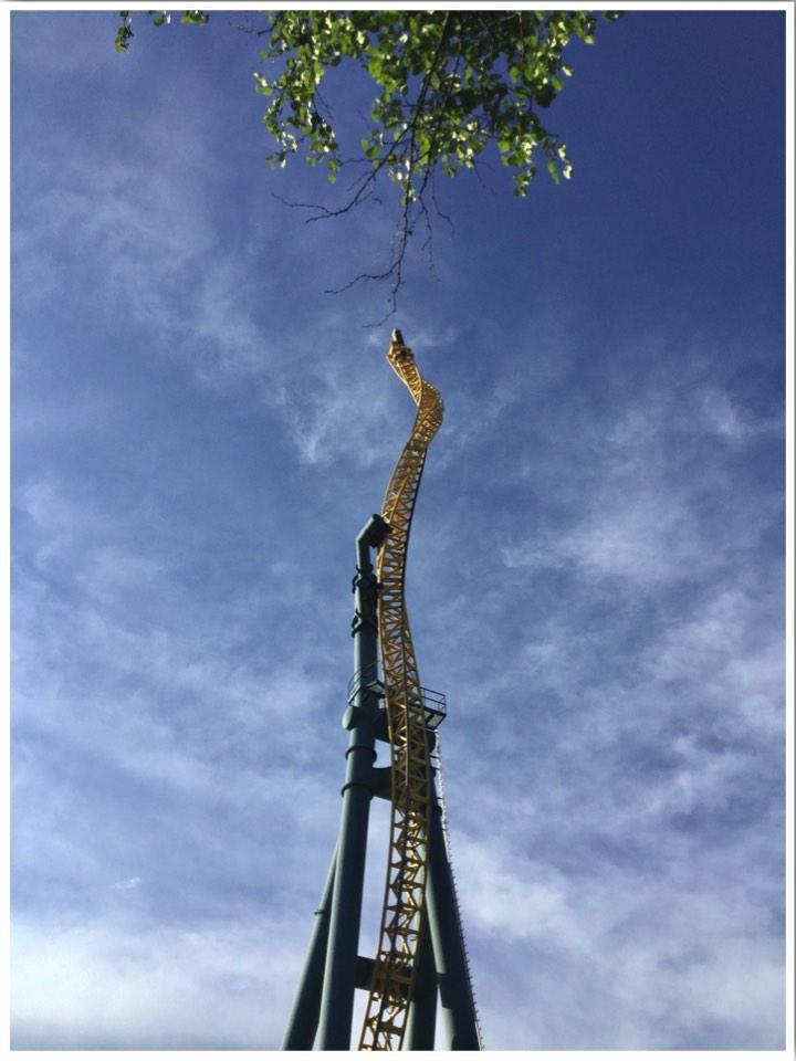 Vertical Velocity Six Flags Illinois