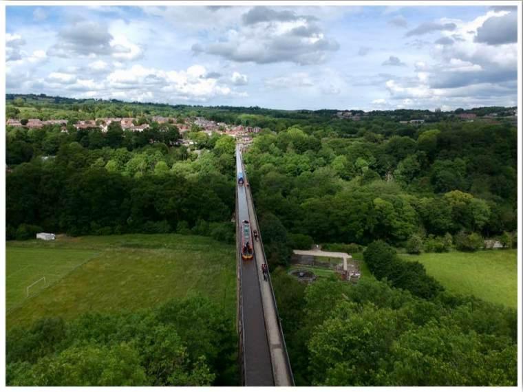 Pontcysyllte Aqueduct Wales UK