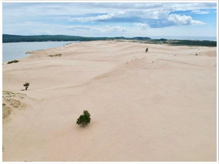 Silver Lake Sand Dunes Michigan USA