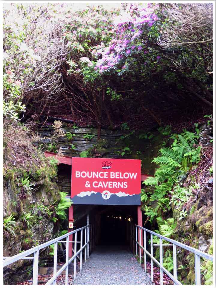 Zip World Bounce Below Caverns