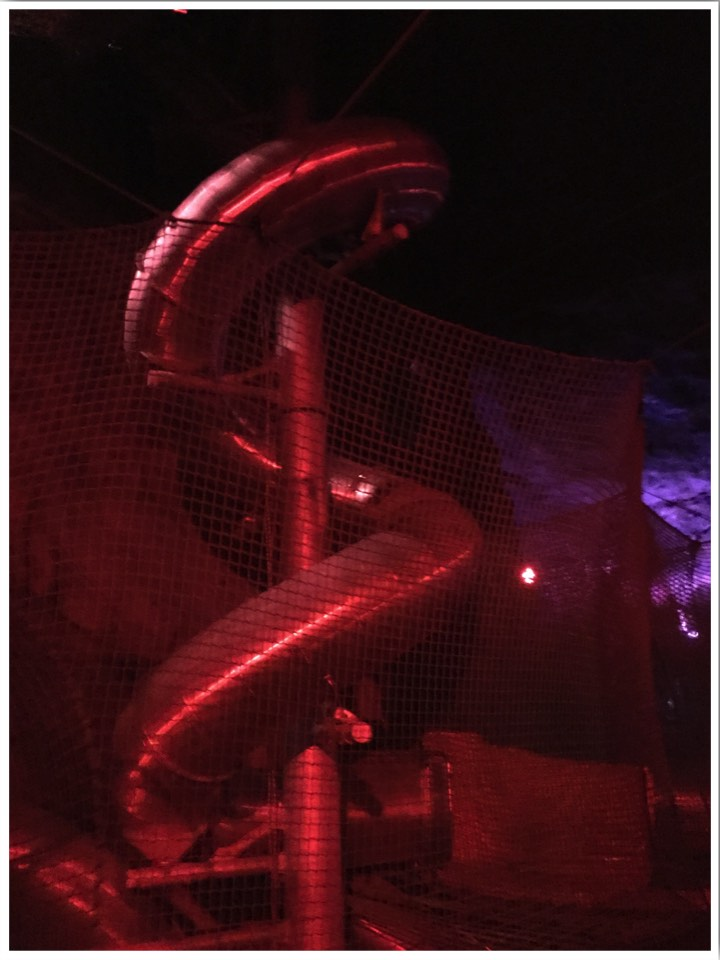 Zip World Underground Slide