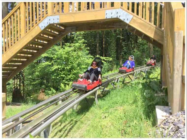 Zip World Fforest Coaster Wales