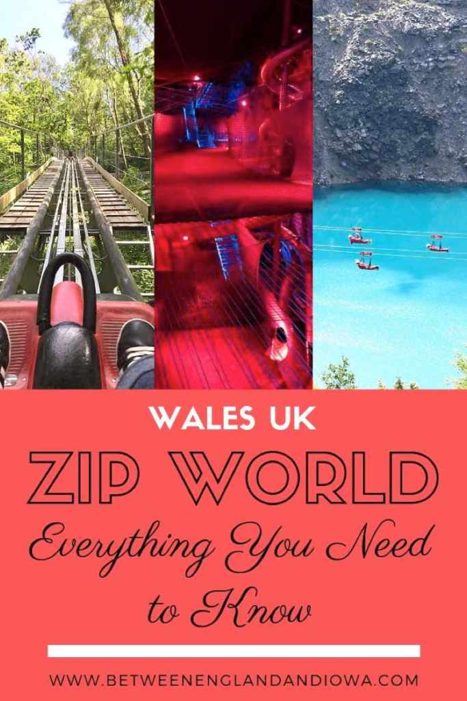 Zip World North Wales. Everything you need to know about visiting Zip World and riding the fastest zip line in the world!