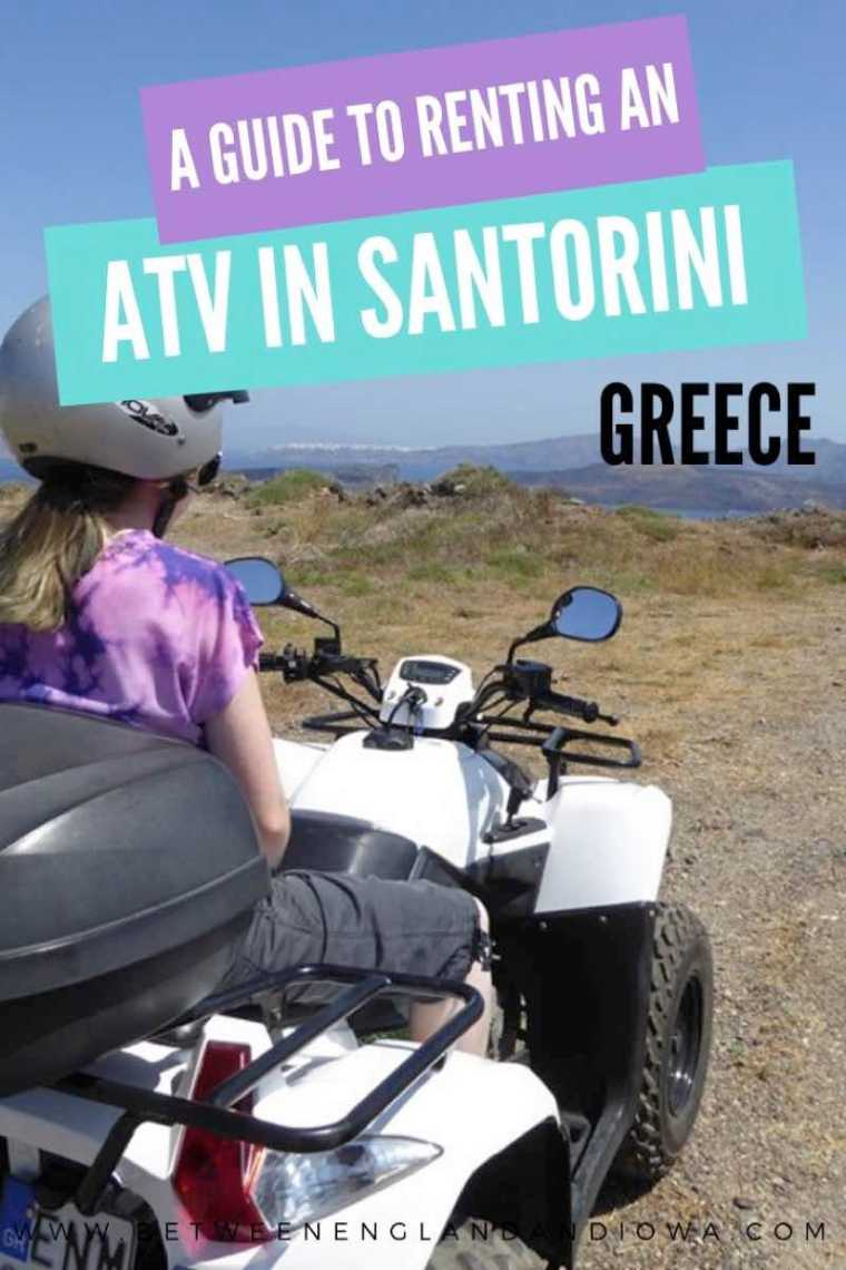 Santorini ATV Rental