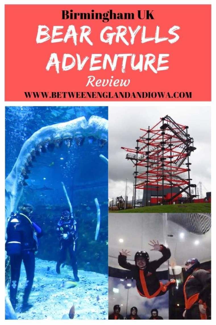 Bear Grylls Adventure in Birmingham UK