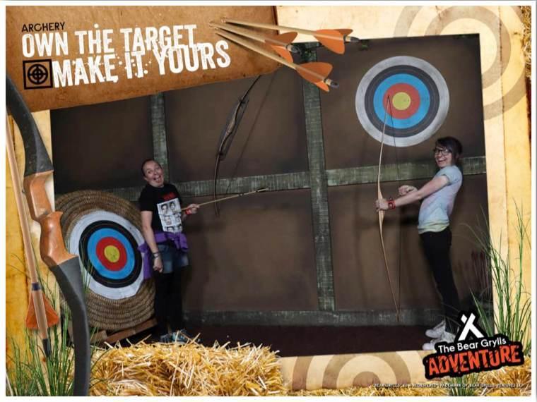 Bear Grylls Birmingham Archery