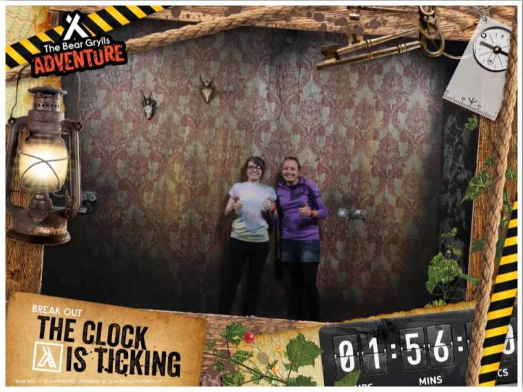 Bear Grylls Escape Room