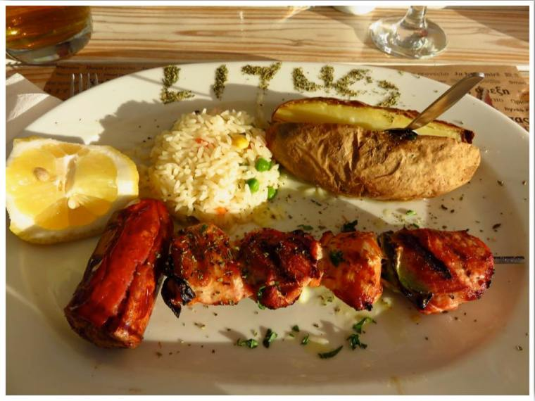 Santorini Greek Souvlaki