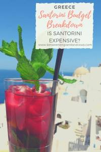 Santorini on a budget guide. Is Santorini expensive?