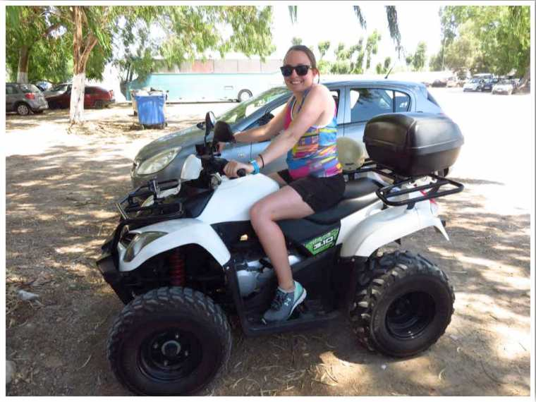 Santorini quad bike hire