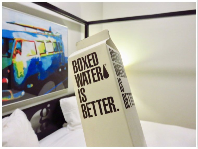Hotel Grinnell Eco Boxed Water