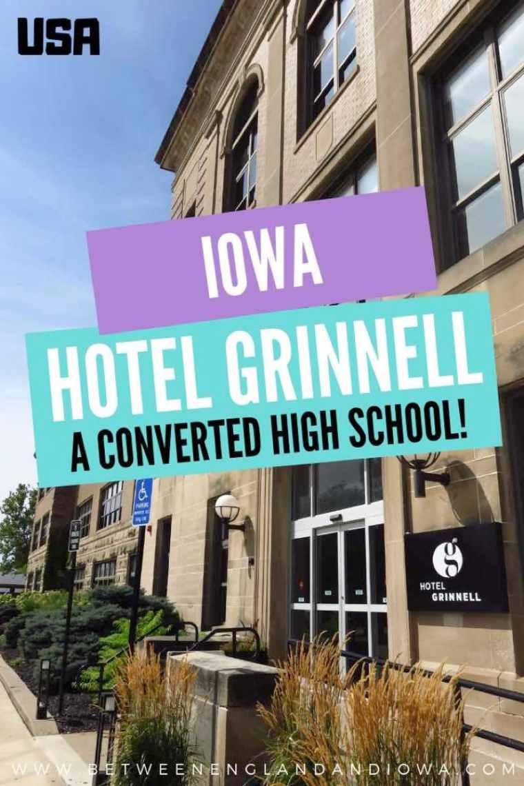 Hotel Grinnell Iowa