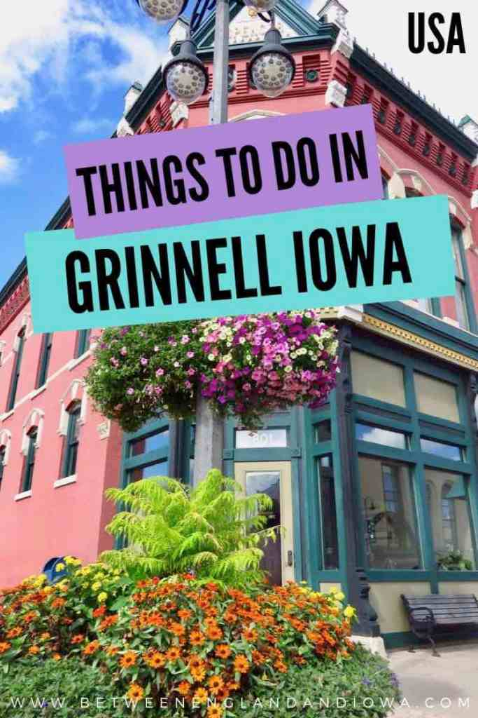 Things to do in Grinnell Iowa