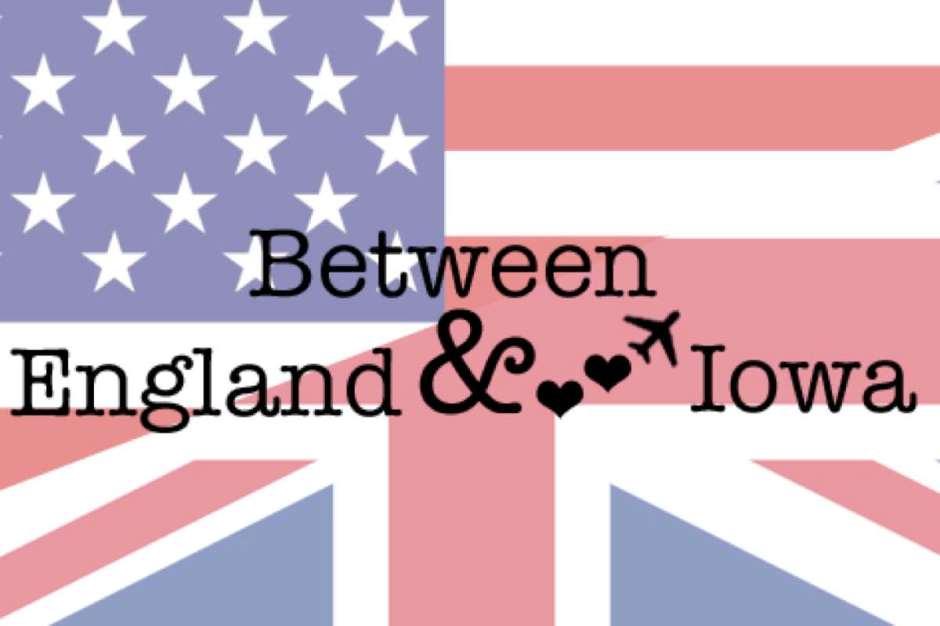 Between England and Iowa