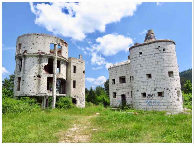 Sarajevo Astronomical Observatory Ruins