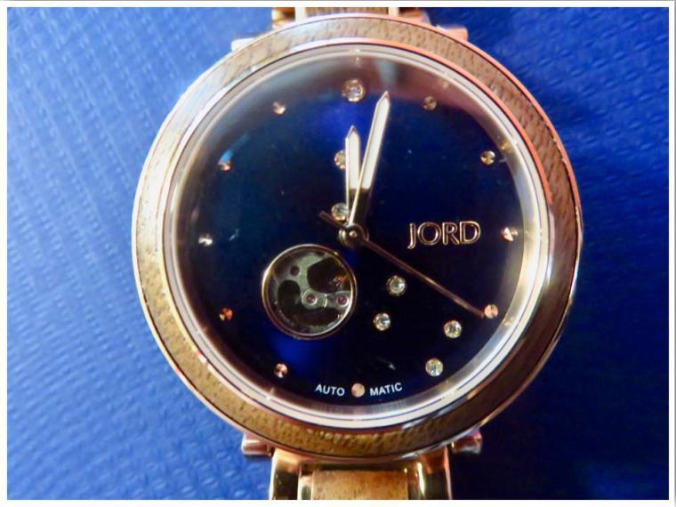JORD Wooden Watch Swarovski Crystal