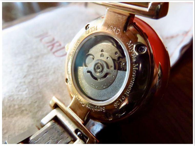 Open Heart Automatic Watch