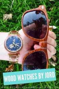 Wooden watches made in the Midwest