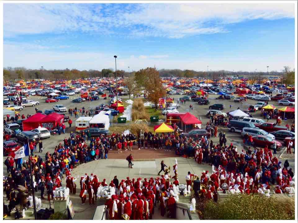 Ames ISU Cyclones Football Game Day Tailgating