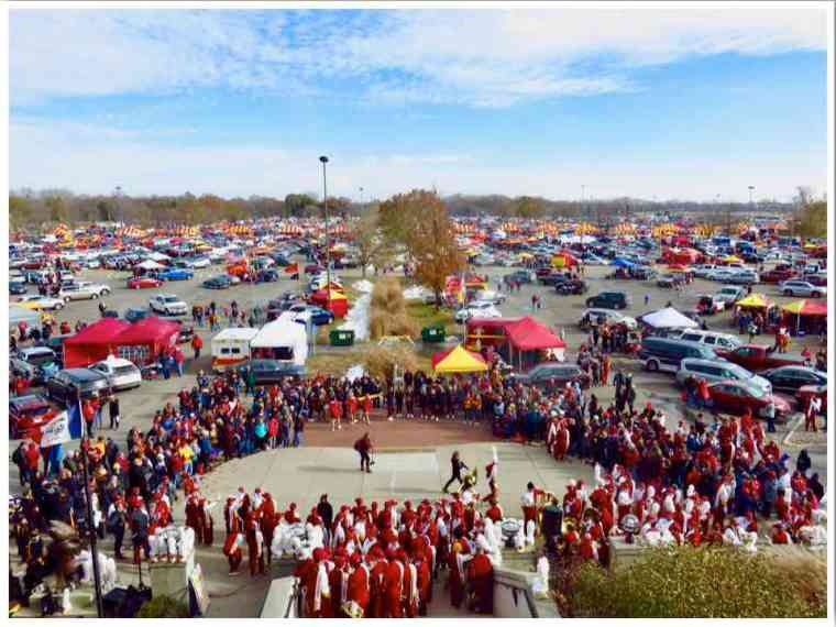 Ames ISU Cyclones Football Game Day Tailgating