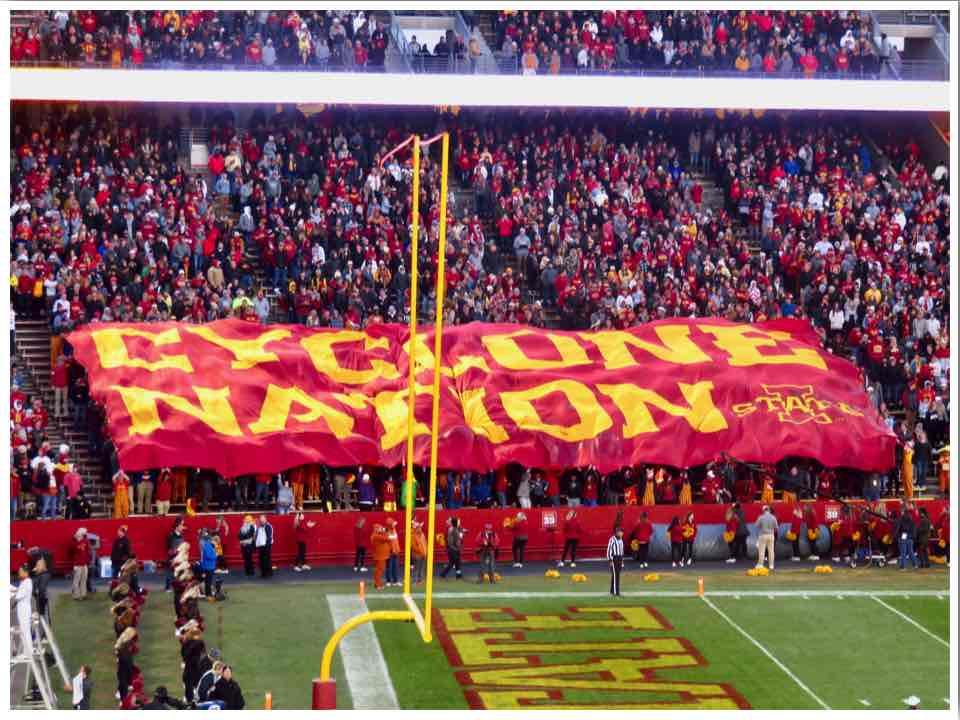 Ames Iowa State University Cyclones Football