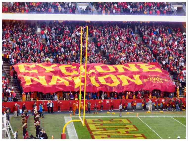 Ames Iowa State University Cyclones Football