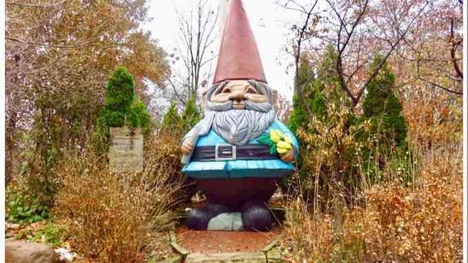 Elwood the World's Largest Gnome Ames Iowa