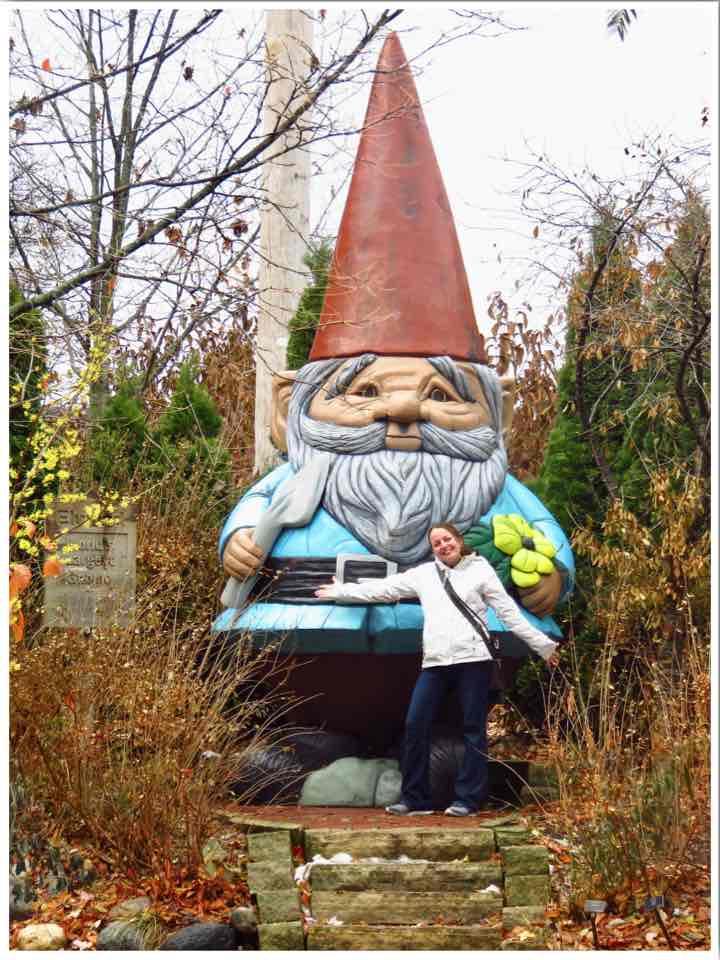Reiman Gardens Elwood Giant Gnome Ames Iowa