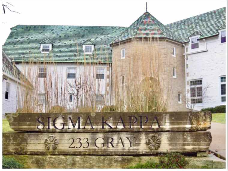 Ames ISU Sigma Kappa Sorority