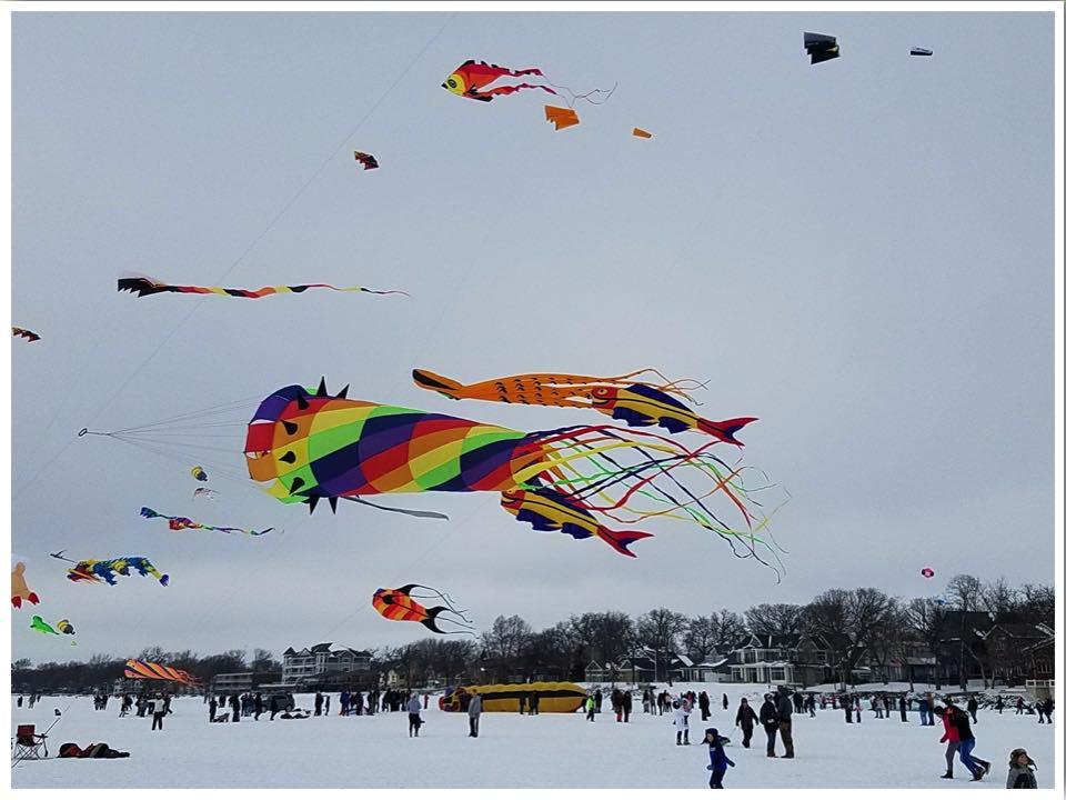 Color of the Wind Kite Festival Clear Lake Iowa photo credit Sara