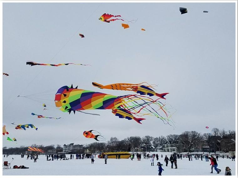Color of the Wind Kite Festival Clear Lake Iowa photo credit Sara