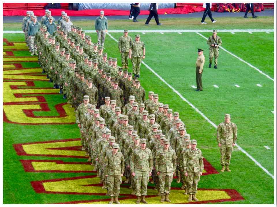 American Football US Military