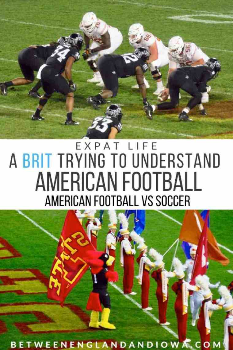 A Brit trying to understand American Football: Football vs Football