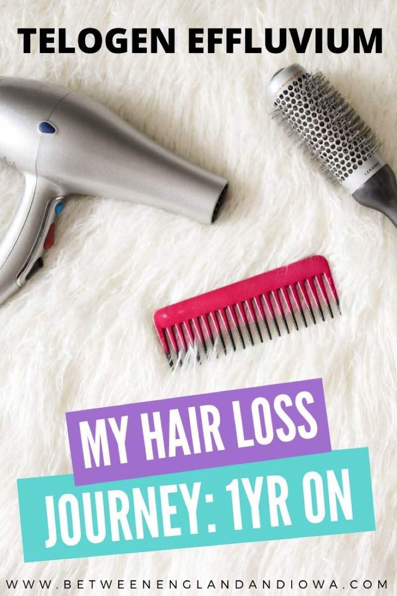 Telogen Effluvium Hair Loss Journey