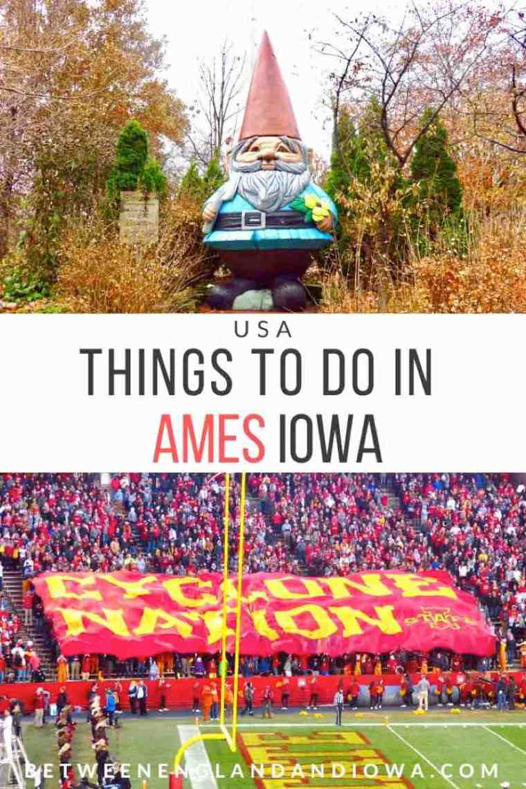 Things to do in Ames Iowa