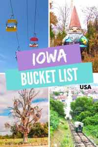 Things to do in Iowa: Iowa Bucket List