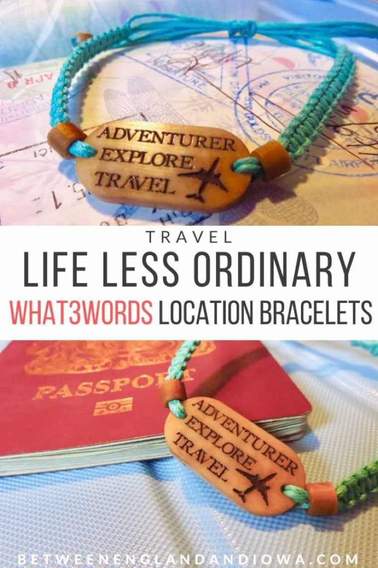 What3Words Location Bracelet by Life Less Ordinary