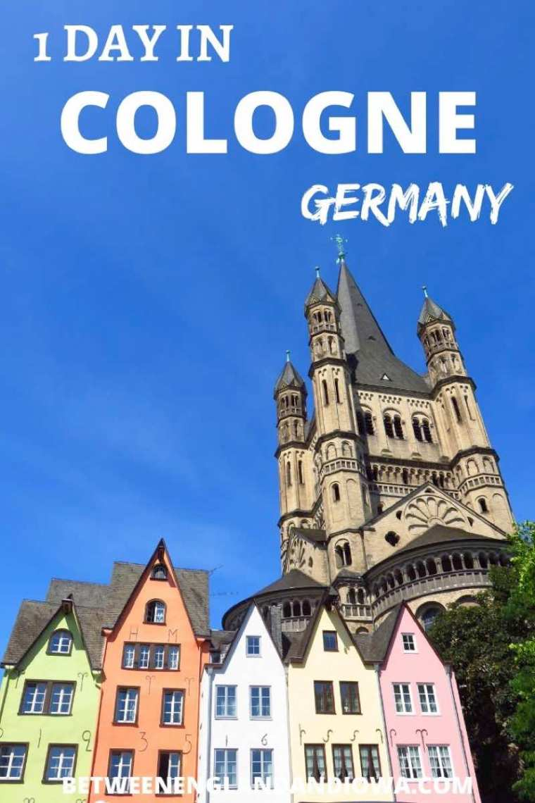 One day in Cologne Germany. Things to see and do along the river.