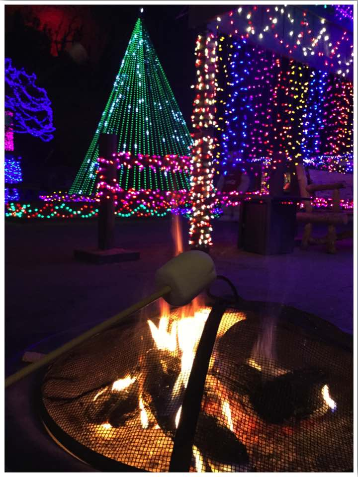 Cave of the Winds Christmas Lights Colorado